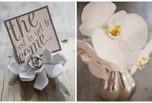 Wedding Style | Modern Metallics / by Lavender Hill Weddings + Events