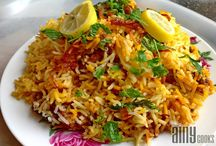 Rice Biryani,pilau,etc