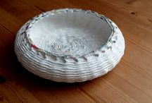 basket from paper