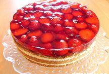mat - kaker - jordbær
