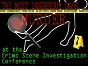 Murder at the CSI Conference - Murder Mystery Party Game / An exciting teen CSI-themed mystery party for 8-15+ guests, ages 14 and up! Any combination of genders: co-ed, all female or all males! Perfect for any occasion! Can also be used for educational purposes in the classroom!