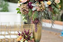 Tall wedding flowers