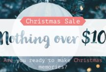Christmas Sale nothing over $10
