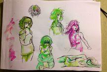Yuno / Yuno est un personnage que j'ai créer pour l'introduire dans le monde d'happy tree friends