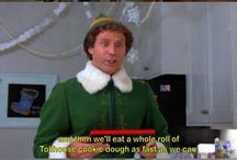 """Tv & movie quotes!!!! / """"Buddy the elf, what's your favorite color?"""" -Buddy the Elf / by A U D R E Y // L E E"""