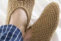 knit slippers free pattern