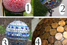 Decorative garden balls