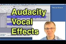 Audacity Tutorials etc