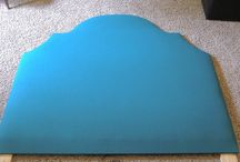 Upholstered headboards - DIY