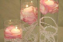 Kynttiläkoristeitä