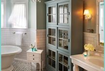 Redo :: Bathrooms / by Abbey {Leaning Shanty Farm}