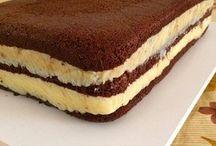 bolos e doces