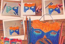 Ideias criativas Faber-Castell: Dia dos Pais / Nesta pasta você encontra maneiras de surpreender o seu pai com muita arte.