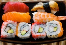 Recipes - Sushi / Use gluten-free (organic if possible) soy products and no imitation crab meat--contains gluten. Substitute rice flour for the tempura batter. Use only gluten-free sauces. -CAB / by Cindy Briedis