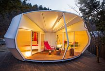 Glamping...This is the life! / A long time ago, Claude and I could rough it with the best of them. Now, much older and wiser, we choose a different sort of getaway. Yes, we are now glampers!