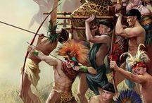 Mayan Civilization / Mayan art, food. people and ruins