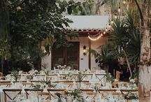 Palm Springs Wedding Inspiration / Palm Springs is the perfect wedding destination for style, sunshine and mid-century boho designs!