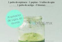 jugos vegetales