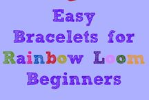 Loom band ideas / Creative ideas for your children to have fun with loom bands.