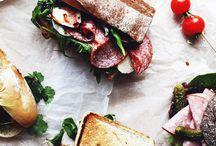 Sandwich, snack