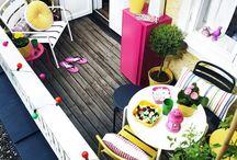 Balkony Decorating Ideas / Balkonies