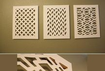 paper art cutting wall