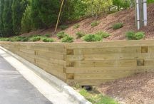 garden \\ construction \\ retaining wall