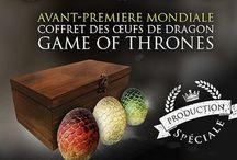 Le Trone De Fer - 350 Coffrets d'oeufs de Dragons, Production spéciale fêtes !