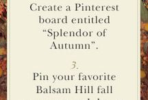 Splendor of Autumn Housewalk / Come with us on an exciting decorating journey as our blogger friends welcome the toasty tones of autumn on a special home tour with Balsam Hill.