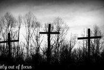 Crosses and Crucifixes / by Kathleen Palasota