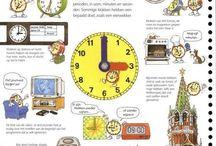 Groep 1/2 - Thema: Tijd