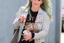 Hilary Duff Jackets