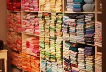 Quilting room ideas / by Misty Ash