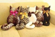 cojines de gatitos
