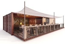 Shipping containers Restaurant