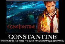 Constantine / it sucks it got cancelled