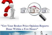 Broker Price Opinion services
