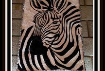 cebras y leopardos