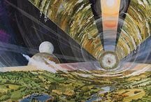 Sci-fi art / Science-fiction art from various artists
