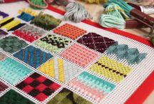 Tapices o alfombras de rejilla i trapillo