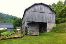 Barns of Appalachia / Barns located in the southern Appalachian Mountains