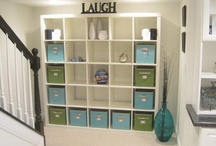 Basement decor & organizing / by Denise Reiland