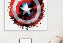 all about captain america art
