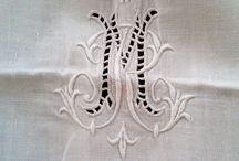 bordados monogramas lenceria