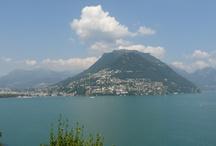 Lugano / Lugona se nachází ve Švýcarsku na hranici s Itálií, nabízí dobré spojení z Bergama.