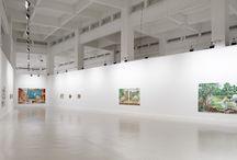 Matthias Weischer / Uno de los máximos exponentes de la Nueva Escuela de Leipzig y discípulo de David Hockney