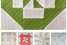 pinwheel block 1
