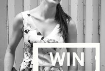 AURZA PRINT COMPETITION / Your chance to win a fabulous AURZA print dress! Simply enter your email to WIN!