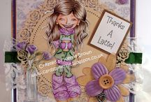 Saturated Canary Makes / Makes created by me with Saturated Canary digi or rubber stamps