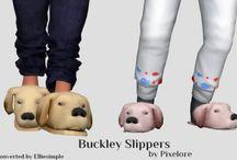 Sapato de criança Sims 4
